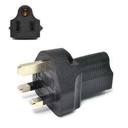 Ceptics UK, UAE, Hong Kong BS-1363 Travel Power Plug Adapter