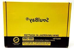 SoulBay Universal AC Switching Power Supply Adapter 24W 2mA