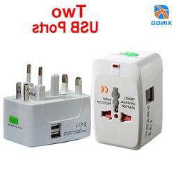 Universal International AC Electric Plug <font><b>Adapter</b