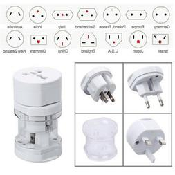 Universal Power Adapter Electric Converter US/AU/UK/EU USB G