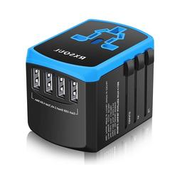 Universal Power Travel Adapter,RXSQUL International Power Ad