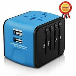 HAOZI Universal Travel Adapter, All-in-one International Pow