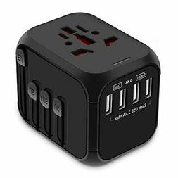 Universal Travel Adapter  All-in-one International Power New