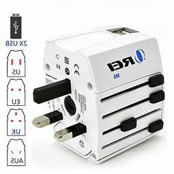 Universal Travel Adapter OREI All In One International Power