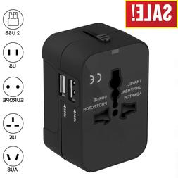 Universal Travel Adapter International Power Outlet Plug US