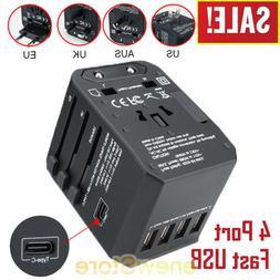 Universal Travel Adapter International Power Outlet Plug US