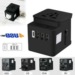 Universal Travel Adapter Power Plug Outlet w/ USB Converter