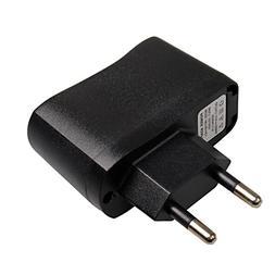 Universal Travel Convenient EU Plug USB AC 100-240V <font><b