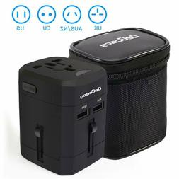 Universal Travel Power Adapter Worldwide All in One Adapter