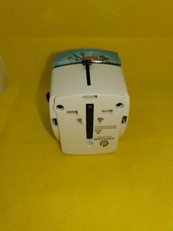 BONAZZA Universal World Travel Adapter w/4 Fast Charging US