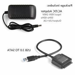 "USB 3.0 to 2.5"" UASP SATA Universal Hard Drive Adapter Cable"