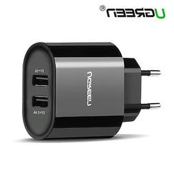 UGREEN USB Power AC Wall Charger Adapter EU Plug for phoneTa