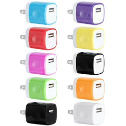 USB Wall Charger AC Power Adapter US Plug For iPhone 4 5 6s
