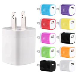 USB Wall Charger Power Adapter AC Home US Plug FOR iPhone 6
