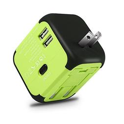 Wall Chargers Maxracy International Travel Power Adapter Wit