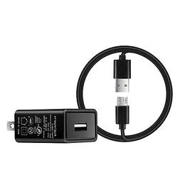 Wall Power Adapter 5 Ft AC Cable 2A Rapid Charger Compatible